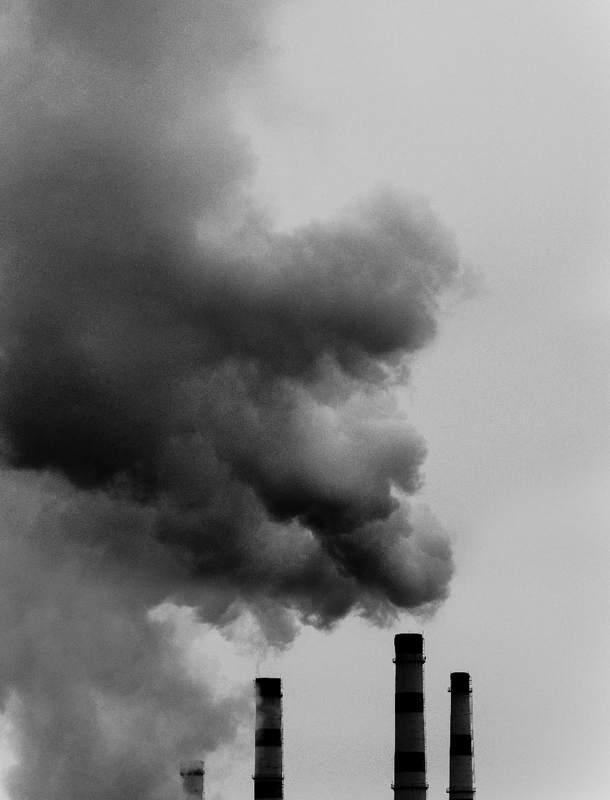 зима, дым, станция, город Нутро урбанистической зимы.photo preview