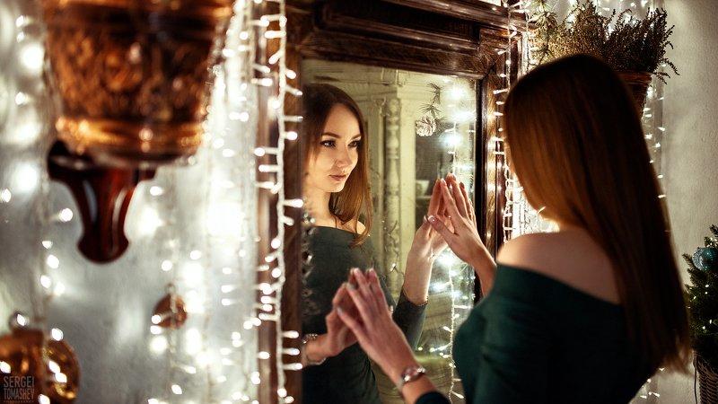 портрет, девушка, модель, 2020 Новый Годphoto preview