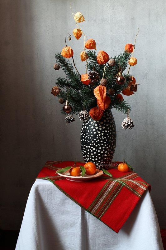 натюрморт, новогодний, праздник Праздничныеphoto preview