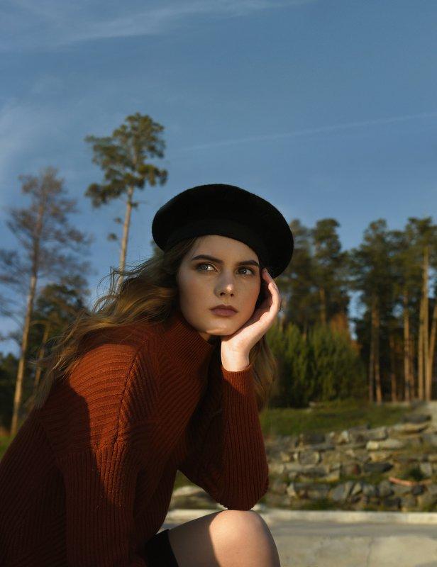 портрет, модель,portrait, fashion, model, фотосессия Полинаphoto preview