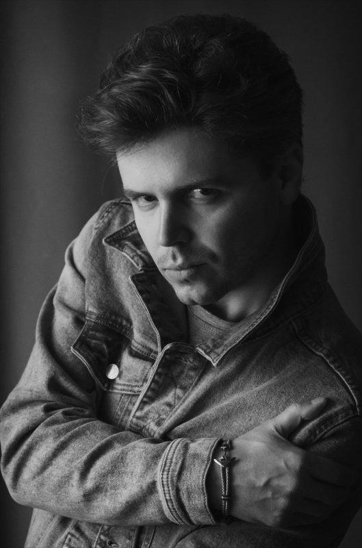черно-белое, портрет, мужской портрет, стиль, эмоции, чувства, краснодар Анатолий.photo preview