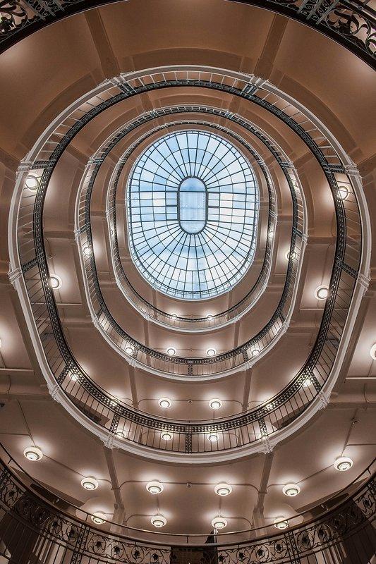 архитектура, паттерны, библиотека, красивые лестницы, винтовые лестницы, staircase, spiral Ученье - светphoto preview