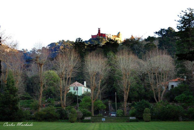 street/reportage, landscape, Seteais . Pena Castelphoto preview