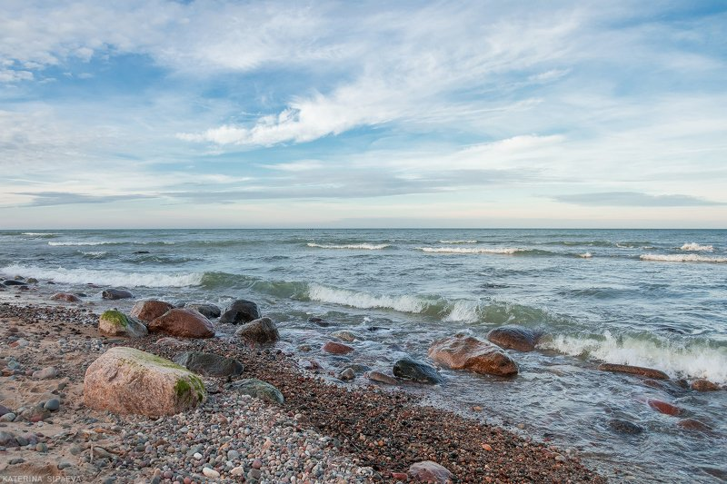 балтийское море, пейзаж Совсем не зимнее мореphoto preview