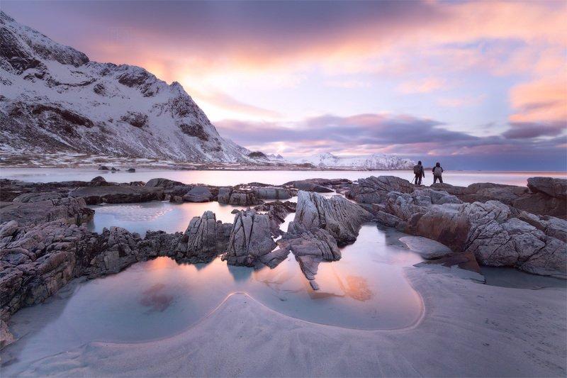 норвегия, лофотены, lofoten, norway, закат Норвежский вечерphoto preview