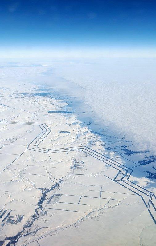 аэрофотосъемка Атмосферный фронтphoto preview