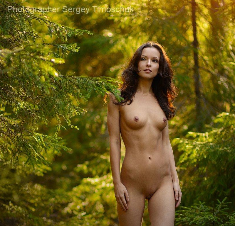 девушка лес Дриада - лесная нимфа)photo preview