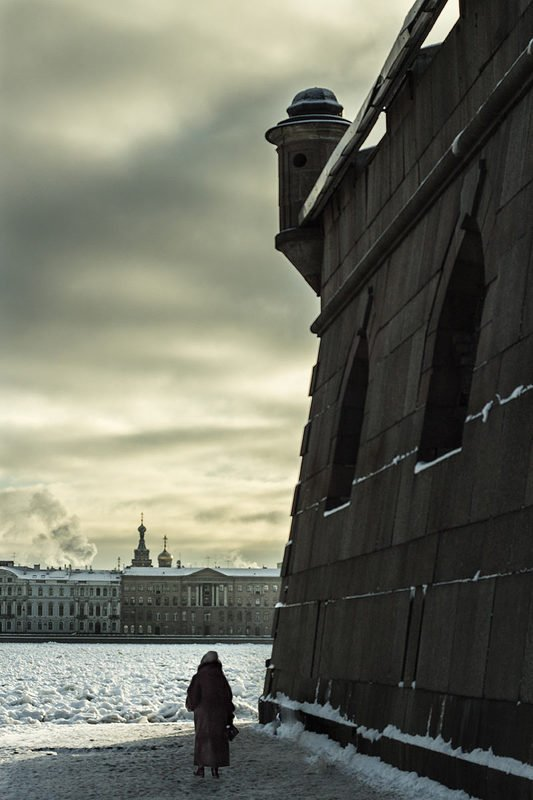 архитектура, город, ленинград, петербург, санкт-петербург, жанр, зима, люди, Ленинградский сюжет.photo preview
