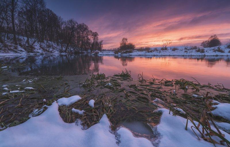 зима, рассвет, река, утро, пейзаж, irix Январь 20гоphoto preview