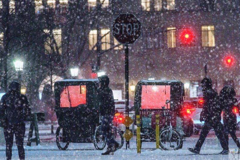 new york, Snow in New Yorkphoto preview