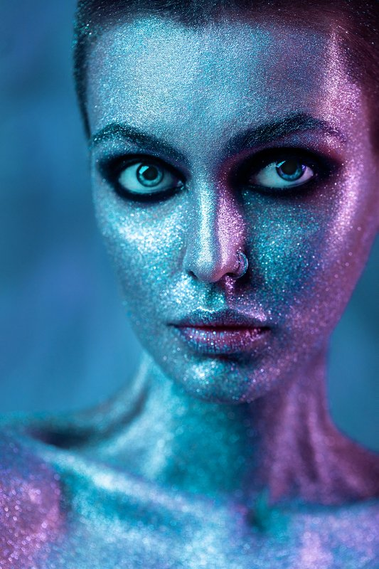 ALIEN GLITTER MIXED LIGHT COLOR LIGHT SHINE Lost in spacephoto preview