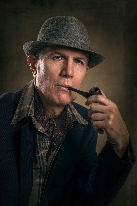 портрет, мужчина, джентльмен, классический портрет, студийная съёмка Портрет Джентльменаphoto preview