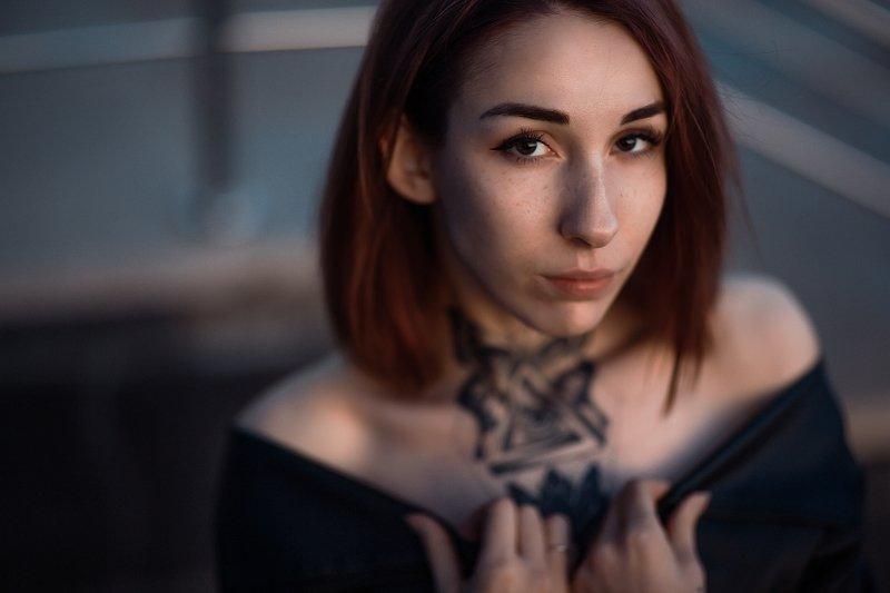 girl, tatoo, девушка, татуировка, осень, лето, цвет Elinaphoto preview