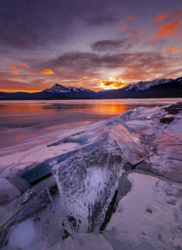 abraham lake, rockies, mountains, абрахам, канада ГОРНЫЙ ХРУСТАЛЬphoto preview
