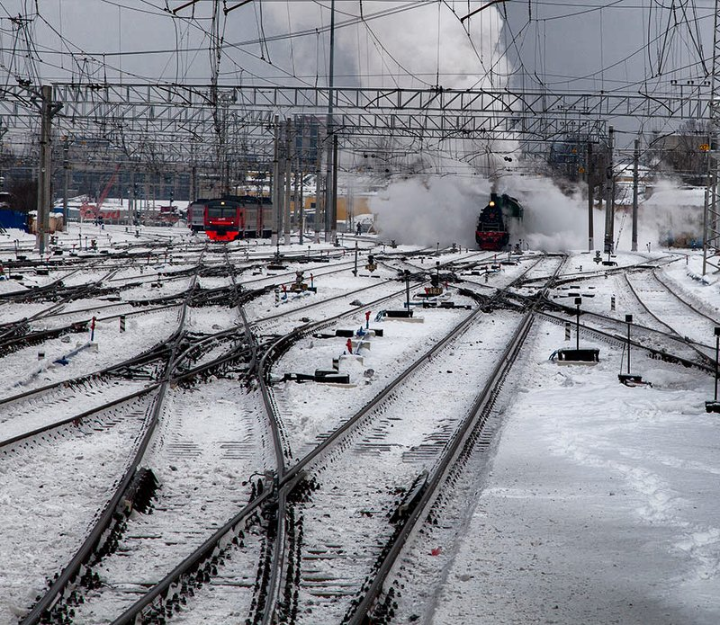 железная, дорога, репортаж, санкт-петербург, петербург, паровоз, техника, город, жанр Прибытие на вокзалphoto preview