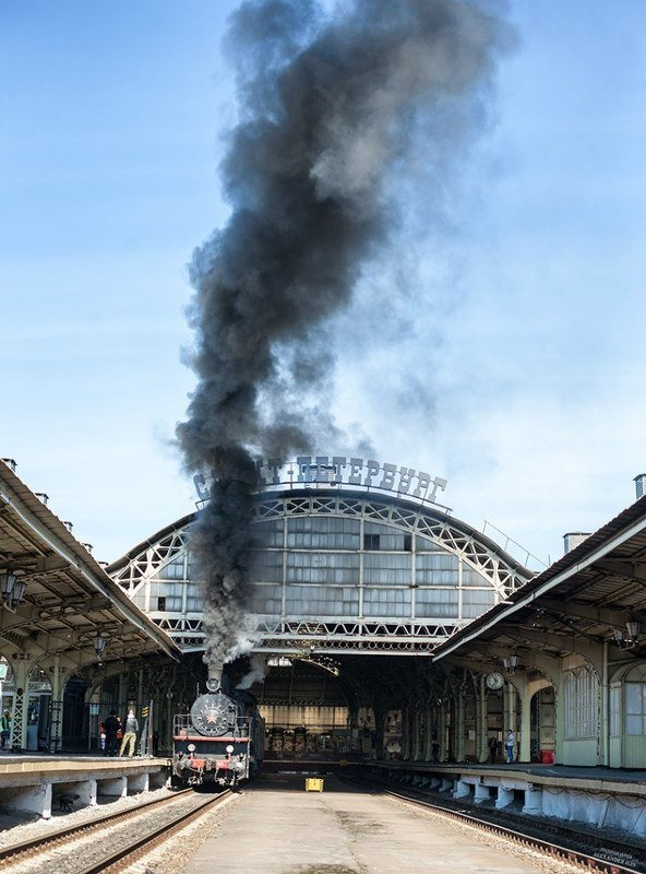 железная, дорога, репортаж, санкт-петербург, петербург, паровоз, техника, город На Витебском вокзалеphoto preview