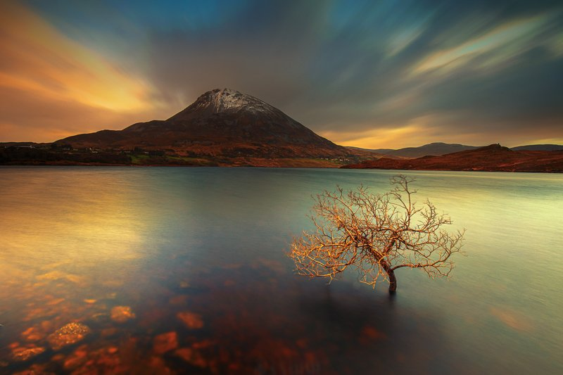 Errigal sunrisephoto preview