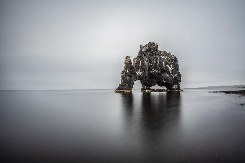 исландия,iceland слон на льдуphoto preview