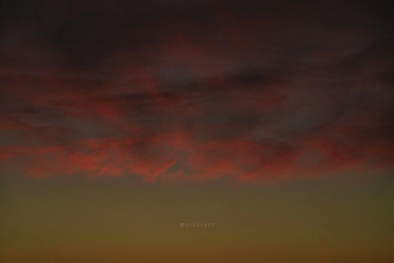 закат evening skyphoto preview