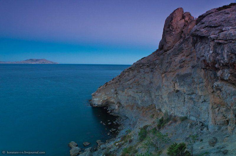 пейзаж, море, закат Закат на мысе Капчикphoto preview