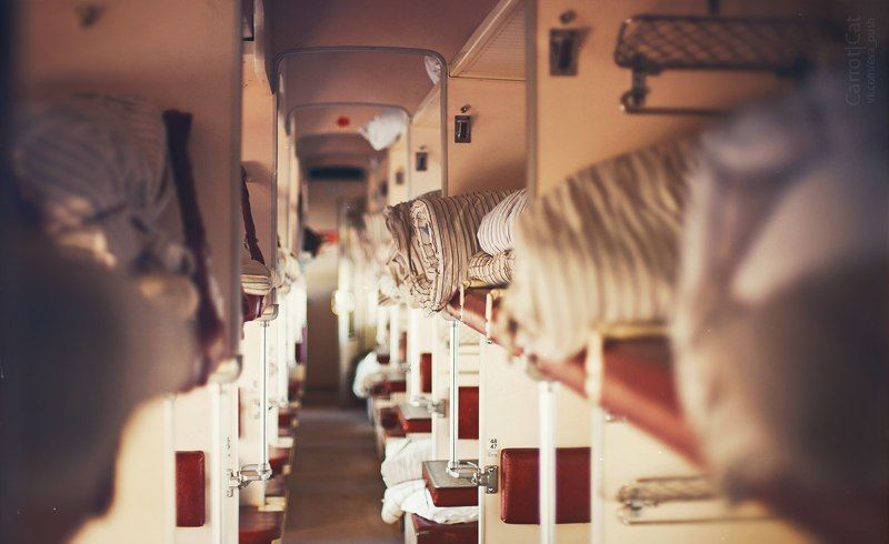 Москва, Плацкарт, Поезд, Путешествия, Рассвет, Спб +++photo preview