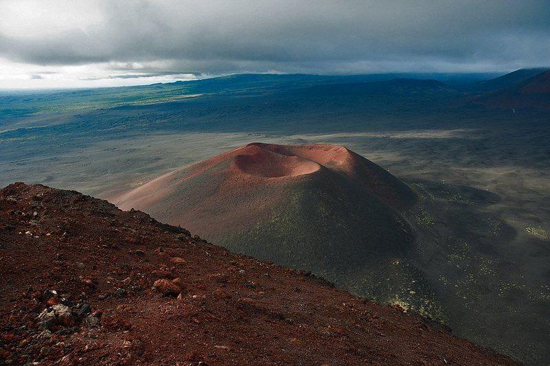 камчатка, толбачик, бтти, извержение, конус, прорыв Конуса БТТИphoto preview