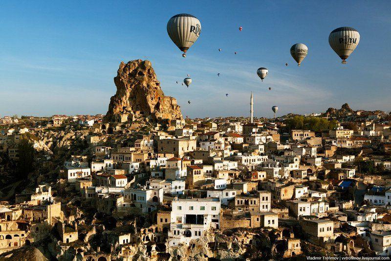 turkey, cappadocia, турция, каппадокия Ortahisarphoto preview