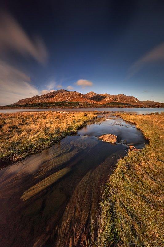 Connemara, Ireland, long exposure, longexposure, sunrise, sunset, landscapes Lough Inaghphoto preview