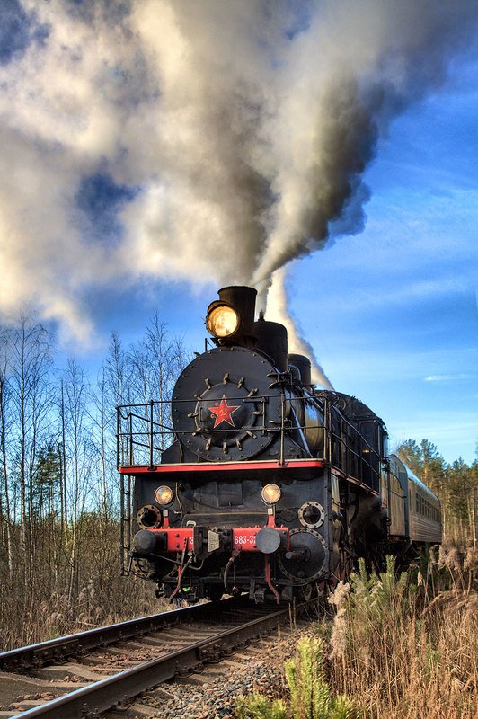 железная, дорога, репортаж, санкт-петербург, петербург, паровоз, техника, город, жанр В путиphoto preview