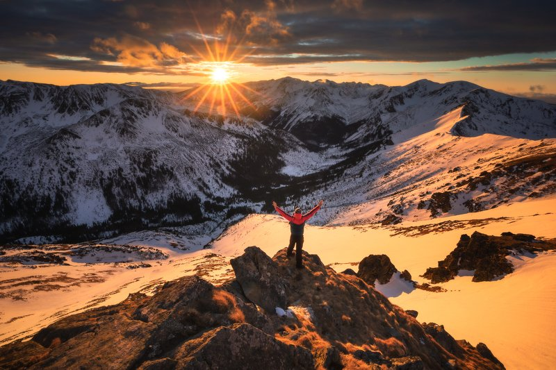 Sunset in Tatra Mountains photo preview