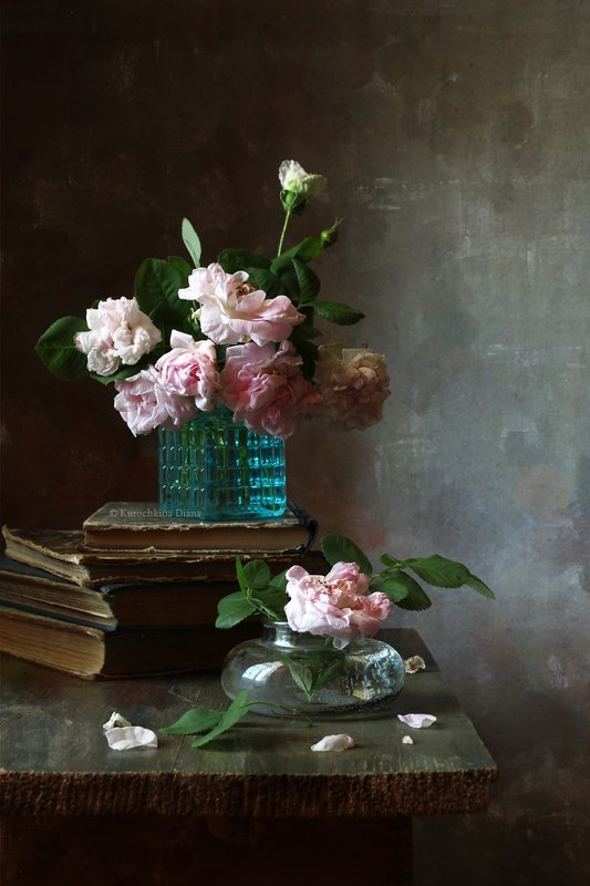 натюрморт, цветы, букет, розы Розочкиphoto preview