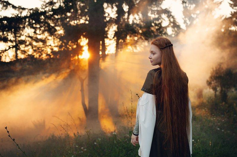 природа, удмуртия, рыжая, портрет, закат, сказка, глазов, дондыдор Сказки ДондыДора часть 3photo preview