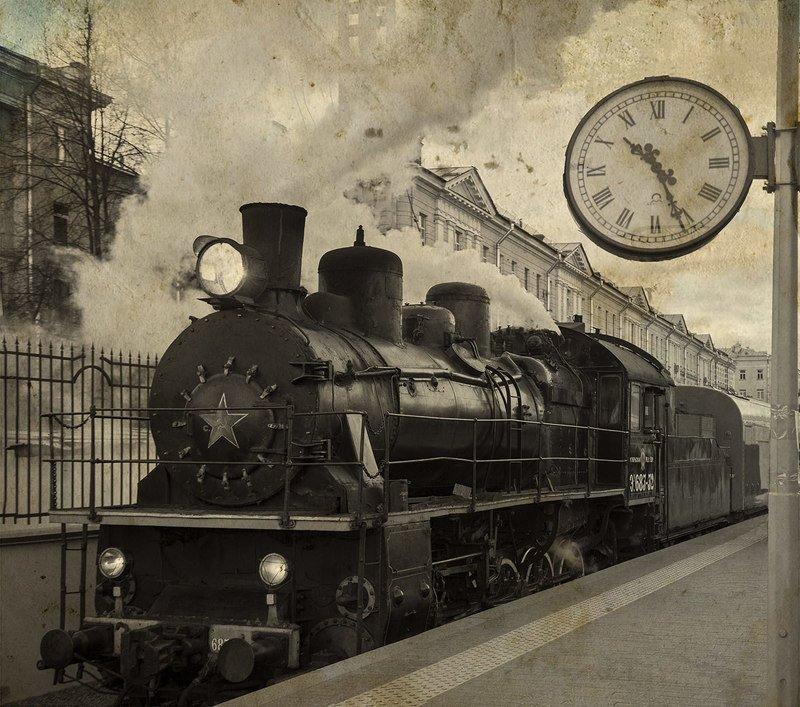 железная, дорога, репортаж, санкт-петербург, петербург, паровоз, техника, город На вокзалеphoto preview