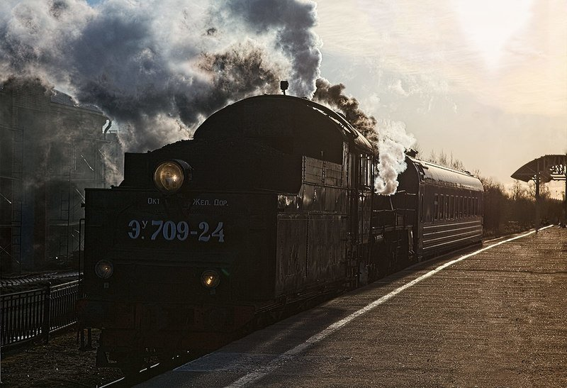 железная, дорога, репортаж, санкт-петербург, петербург, паровоз, техника, город Станция Петрокрепость.photo preview