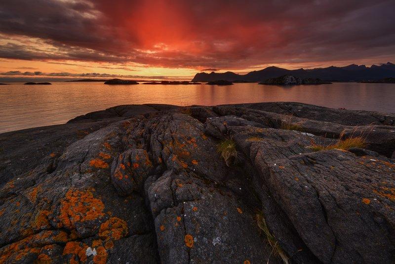 Норвежская ночь...photo preview