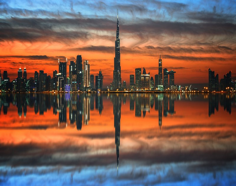 cityscape The Skyline of Dubaiphoto preview