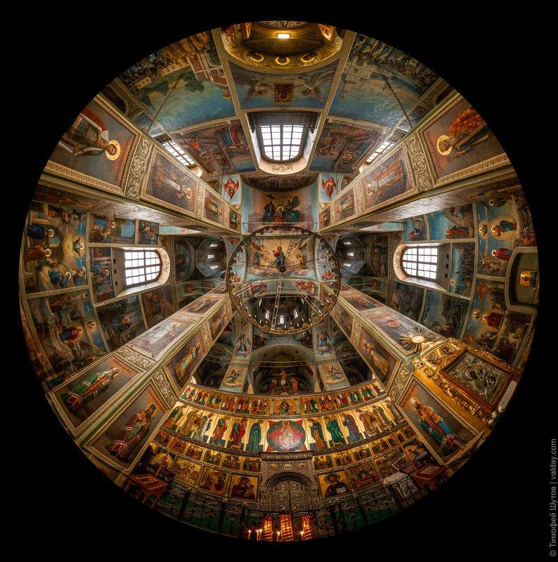 иверский монастырь, валдай Закружилась голова!photo preview