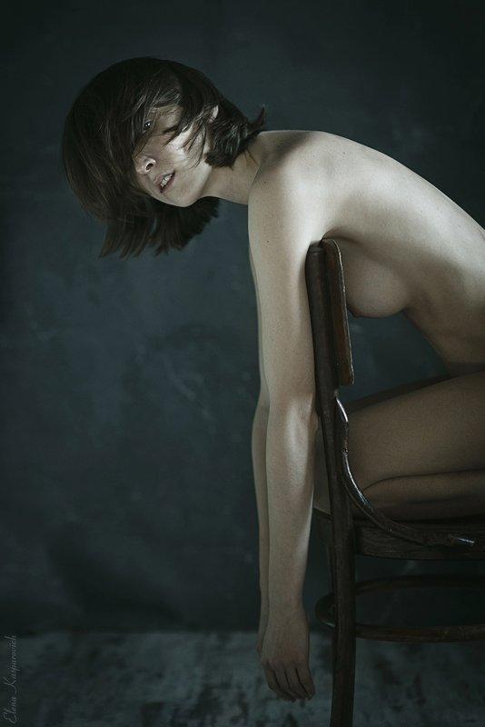 ню, женский портрет, девушка photo preview