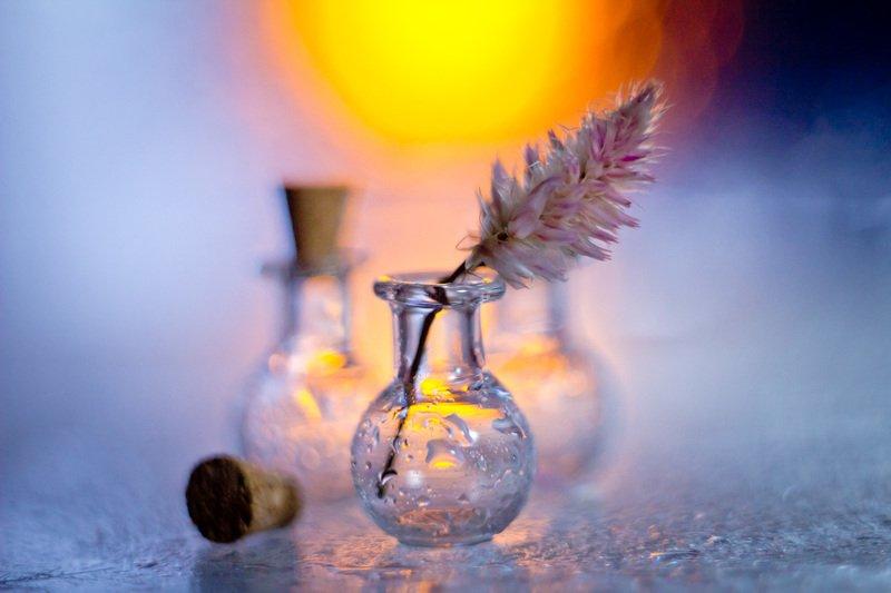 натюрморт, боке, прозрачный, закат, солнце, бутылка, стакан, стекло, красивый, прозрачный, блики, still life Стеклянныеphoto preview