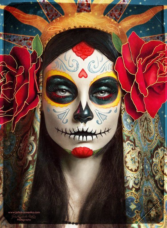 beauty, model, face, beautiful, sugar scull, d HApPy HallOwEeN!photo preview