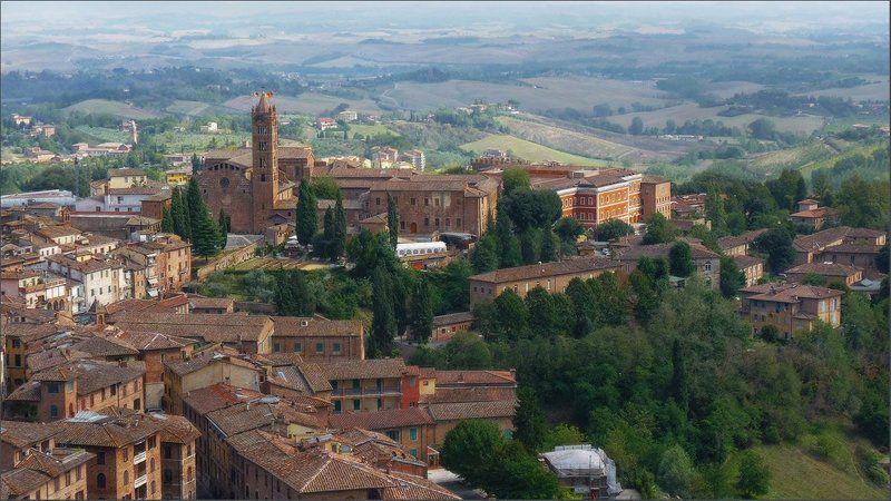 город,италия,тоскана Итальянский городокphoto preview