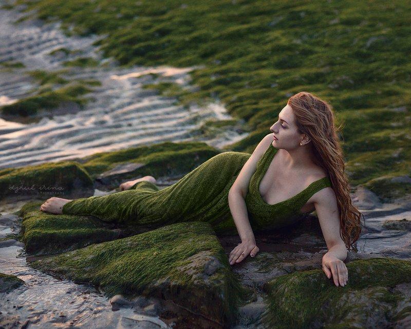 portreit people girl woman irinadzhul dzhulirina green nature \