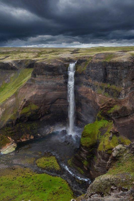 исландия,iceland Хауифоссphoto preview