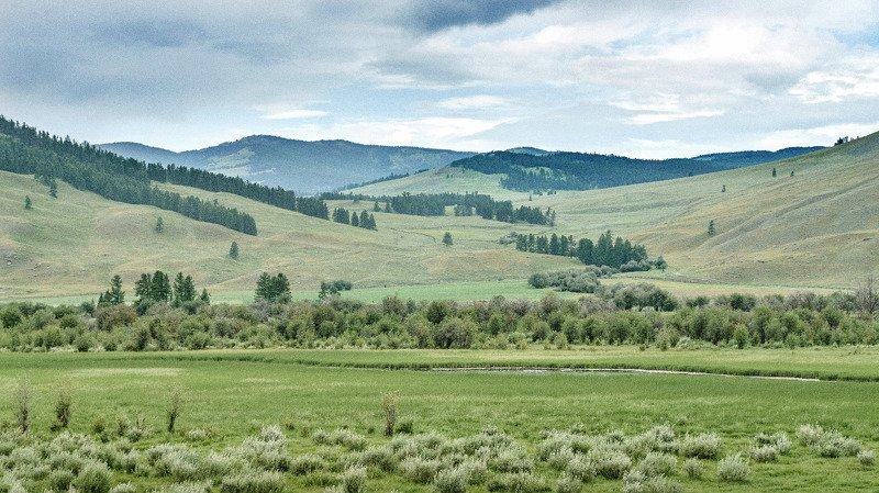 пейзаж, горы, облака, лето. Горный Алтай  Прекрасные дали. photo preview