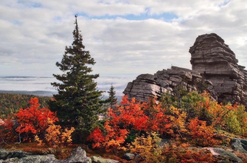пейзаж, урал, осень, колчимский камень На Колчимском камне...photo preview