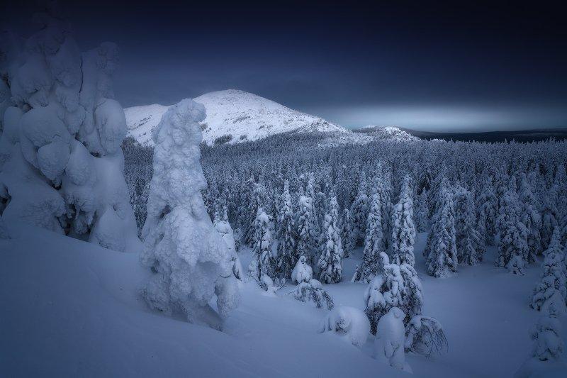 таганай, урал, горы, круглица На подступах к Круглицеphoto preview