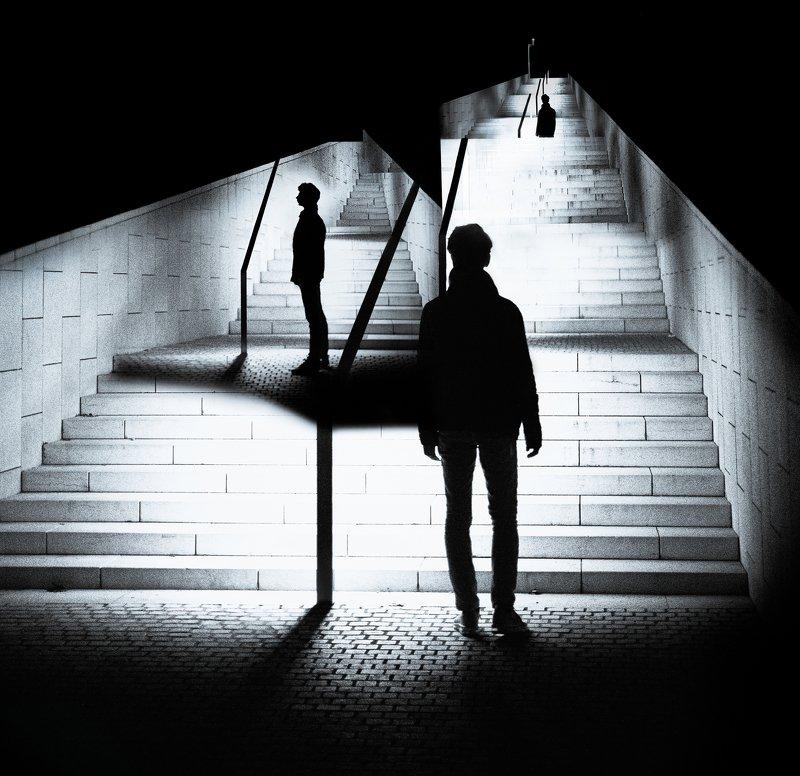 арт,чб,свет,лестница Решениеphoto preview