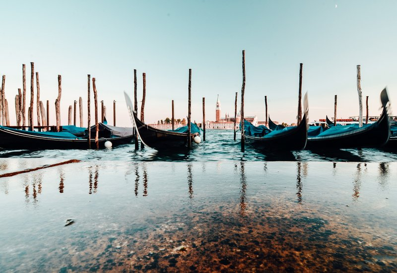 венеция, гондолы, сан-марко, гранд канал, красивый вид, пейзаж, город, архитектура, виды венеции, венеция закат, venice, venetia, venezia Bella Veneziaphoto preview