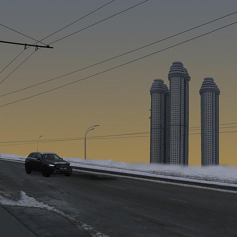 Башни Москвыphoto preview