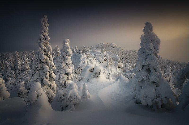 таганай, урал, горы, зима, лес В зимней тишинеphoto preview
